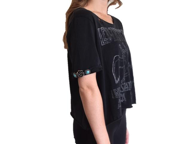 DIY Embellished Band T Shirt Tutorial