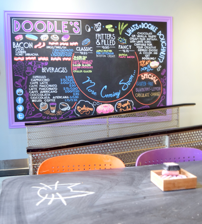 Doodle's Donuts