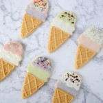 Ice Cream Cone Sugar Cookies