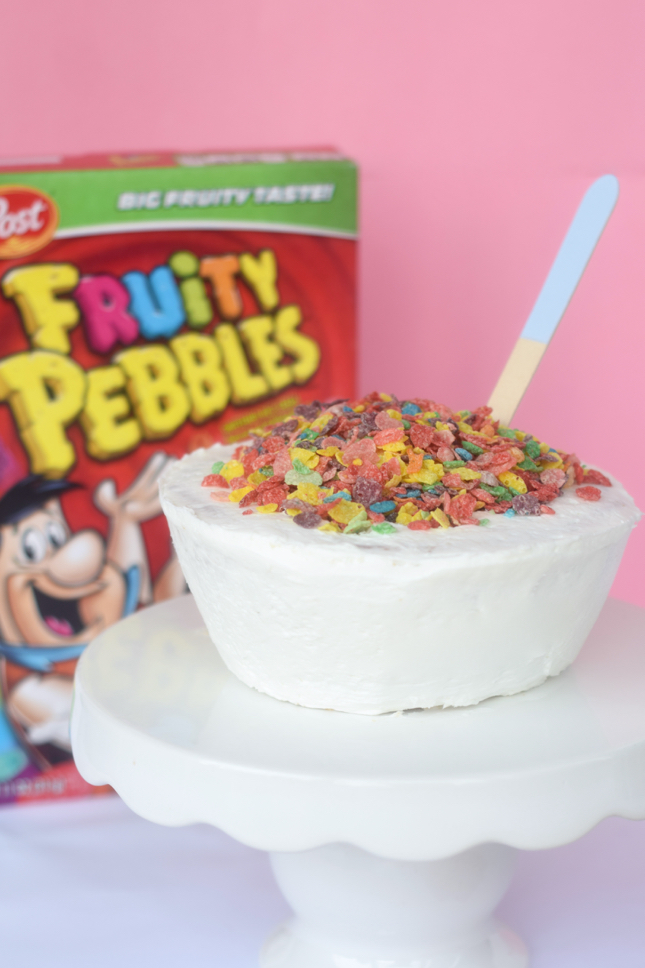 Cereal Bowl Cake Recipe