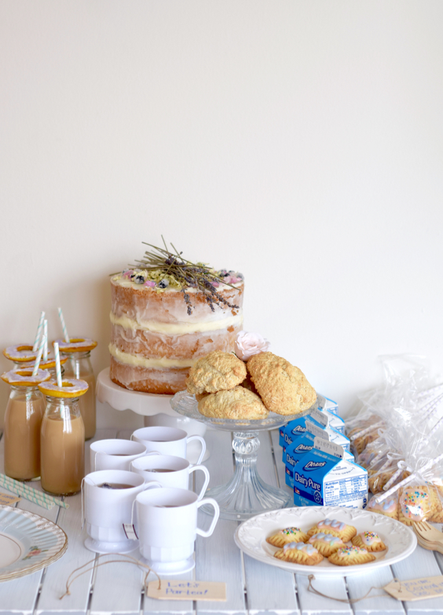 Dessert Tea Party Planning