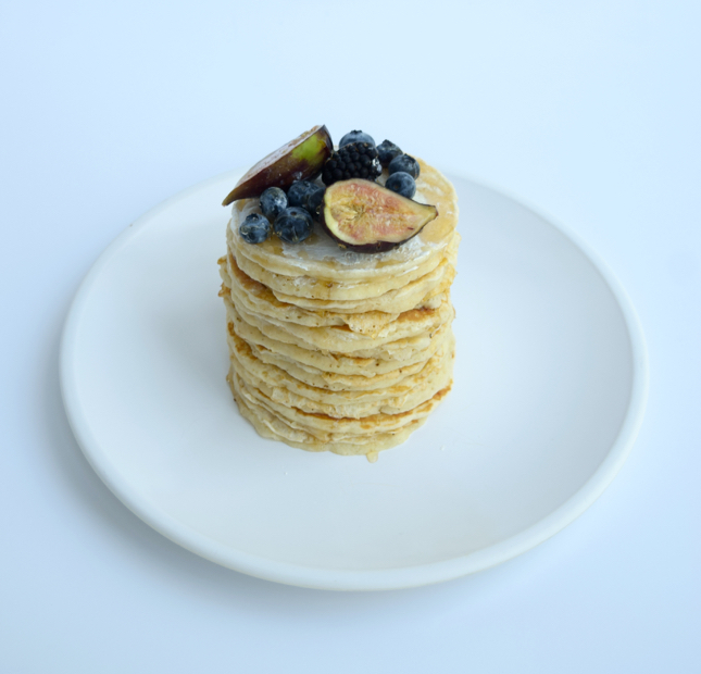 Fig & Honey Pancakes