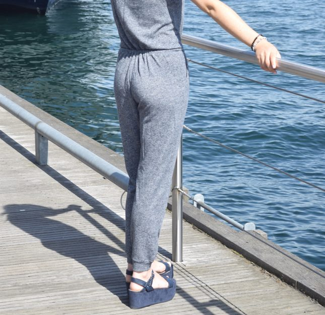 Tobi Grey Jumpsuit