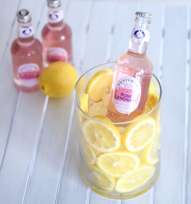 Lemon Lined Vase Tutorial