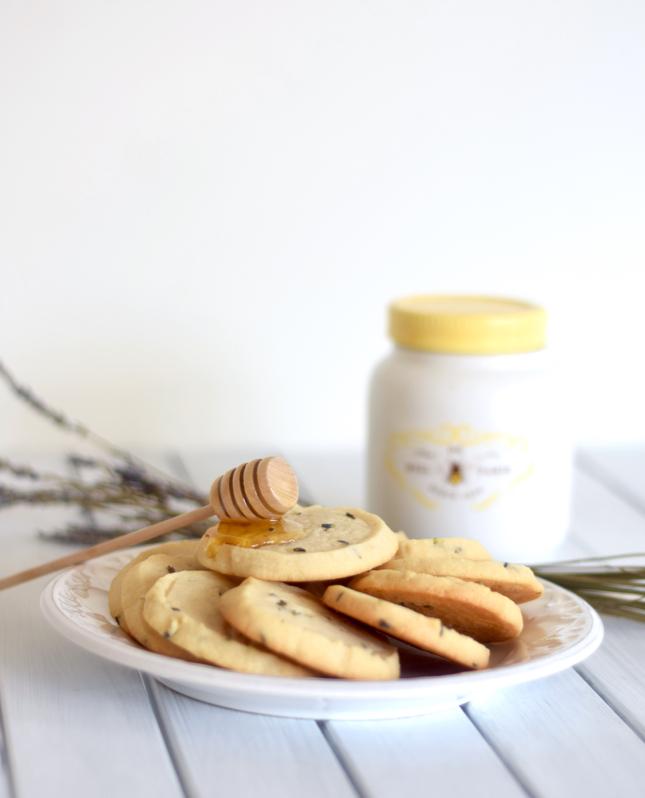 lavender honey shortbread cookies recipe