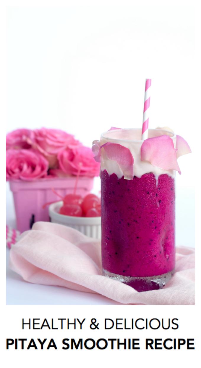 Healthy Delicious Pitaya Smoothie Recipe