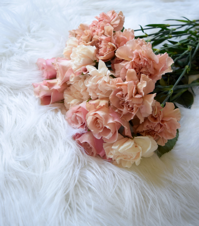 Rose Gold Flowers