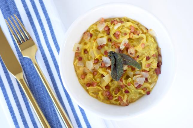 Healthy Carbonara Pasta