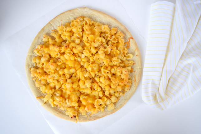 Mac & Cheese Pizza Recipe