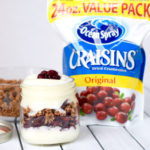 Fall Parfaits With Ocean Spray® Craisins® Dried Cranberries