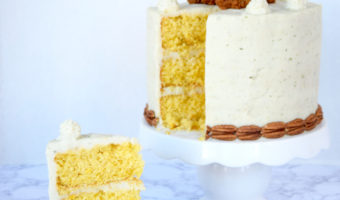Fried Chicken Cornbread Mashed Potatoes Layered Cake Recipe