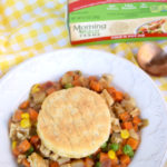 Veggie Chik'n Pot Pie for Meatless Monday
