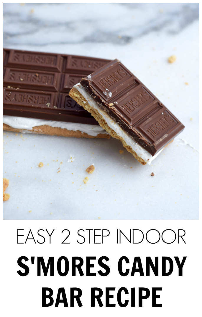 EASY 2 STEP INDOOR S'MORES CANDY BAR RECIPE