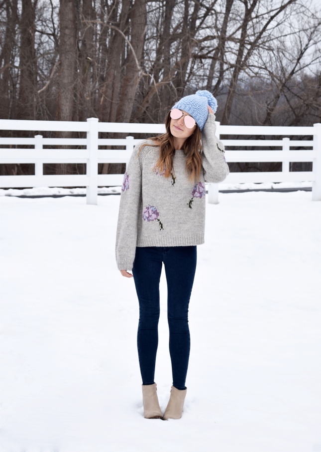 Pastel Winter Outfit