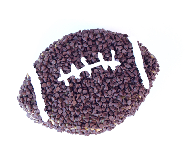 Cookie Dough Football Dip Recipe
