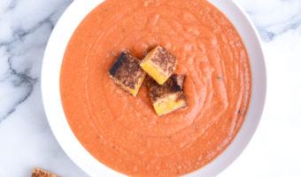 Healthy Tomato Cream Soup Recipe