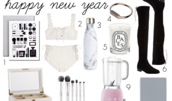 Start Your New Year Off Right With These Items