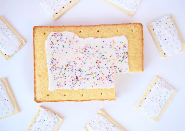 giant pop-tart cake recipe