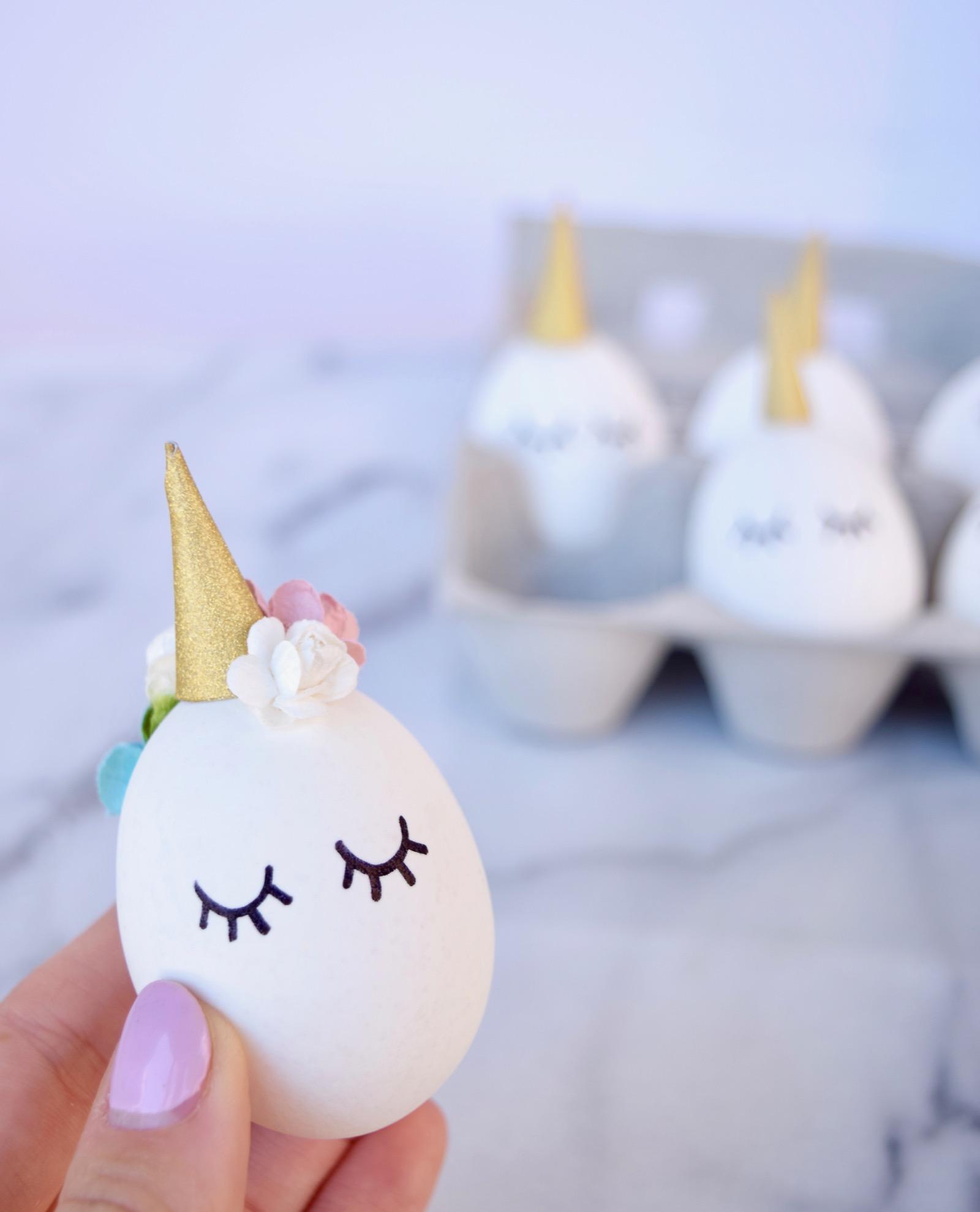 DIY Easter Unicorns