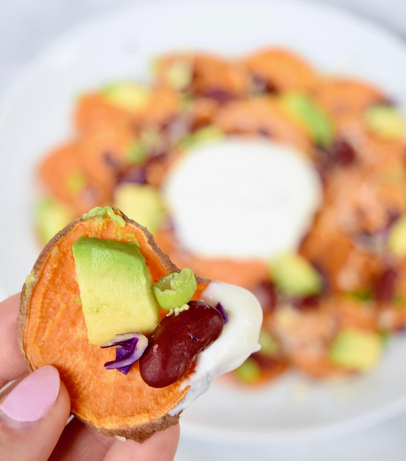 Easy Sweet Potato Nachos