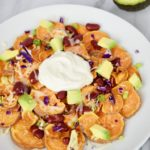 2 Step Healthy Sweet Potato Nacho Recipe