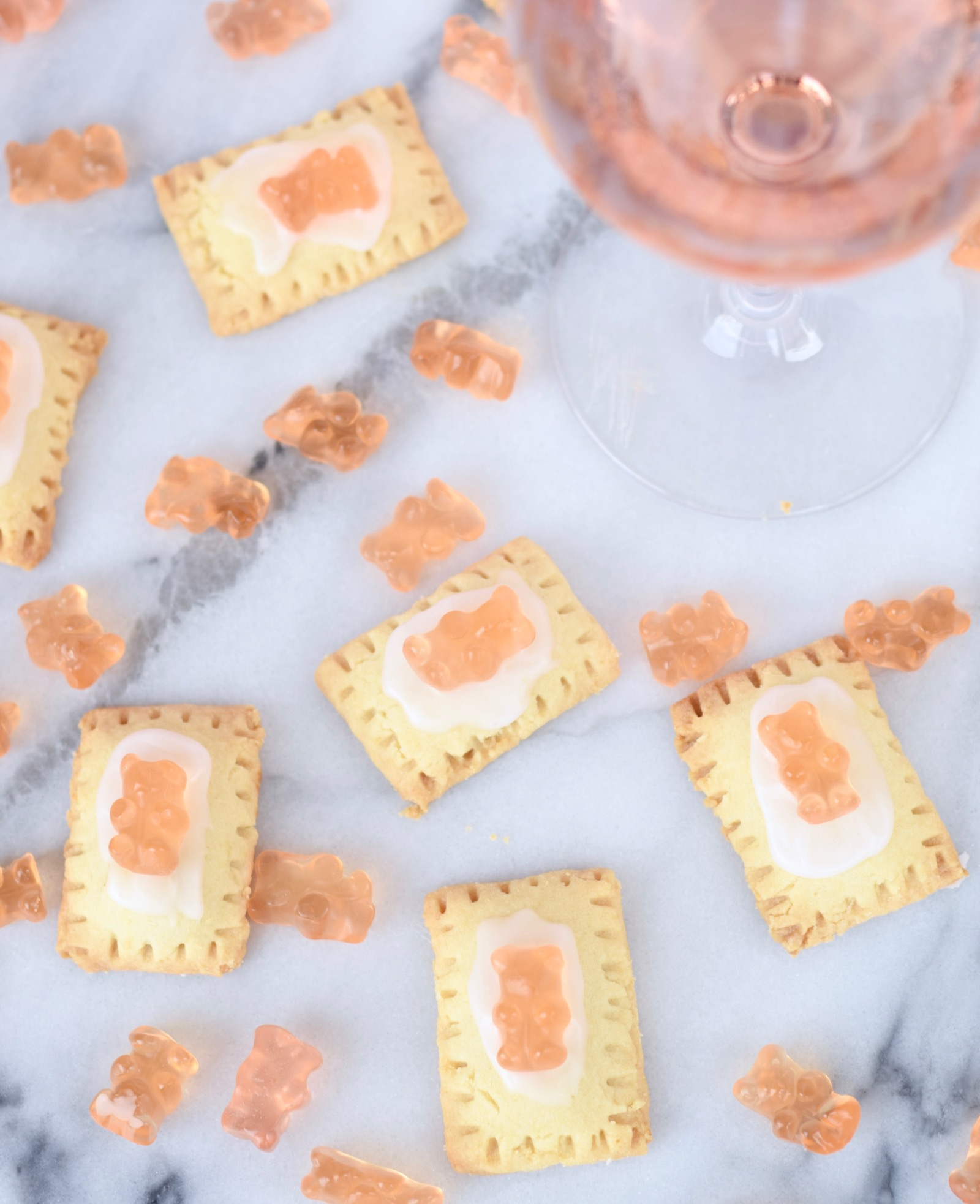 Mini Rosé Pop-Tart Recipe