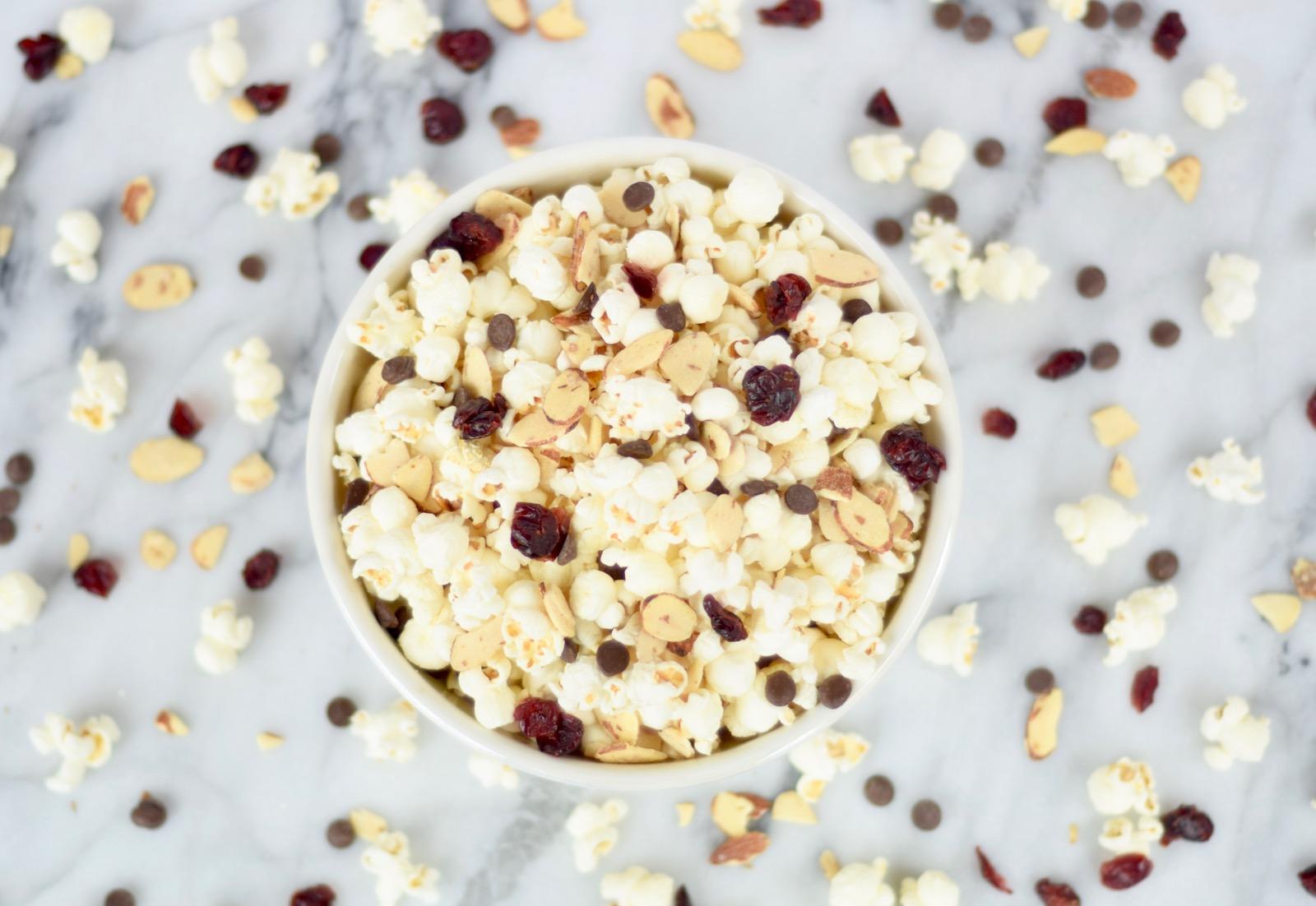 Trail Mix Popcorn Recipe