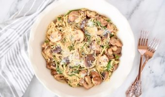 1 Step Mushroom Pasta Recipe