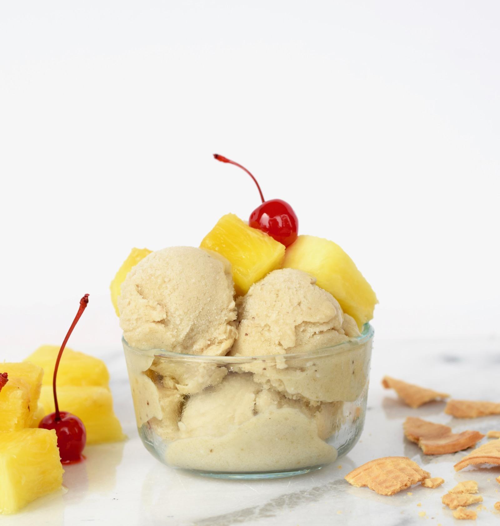 Pina Coloda Ice Cream Recipe