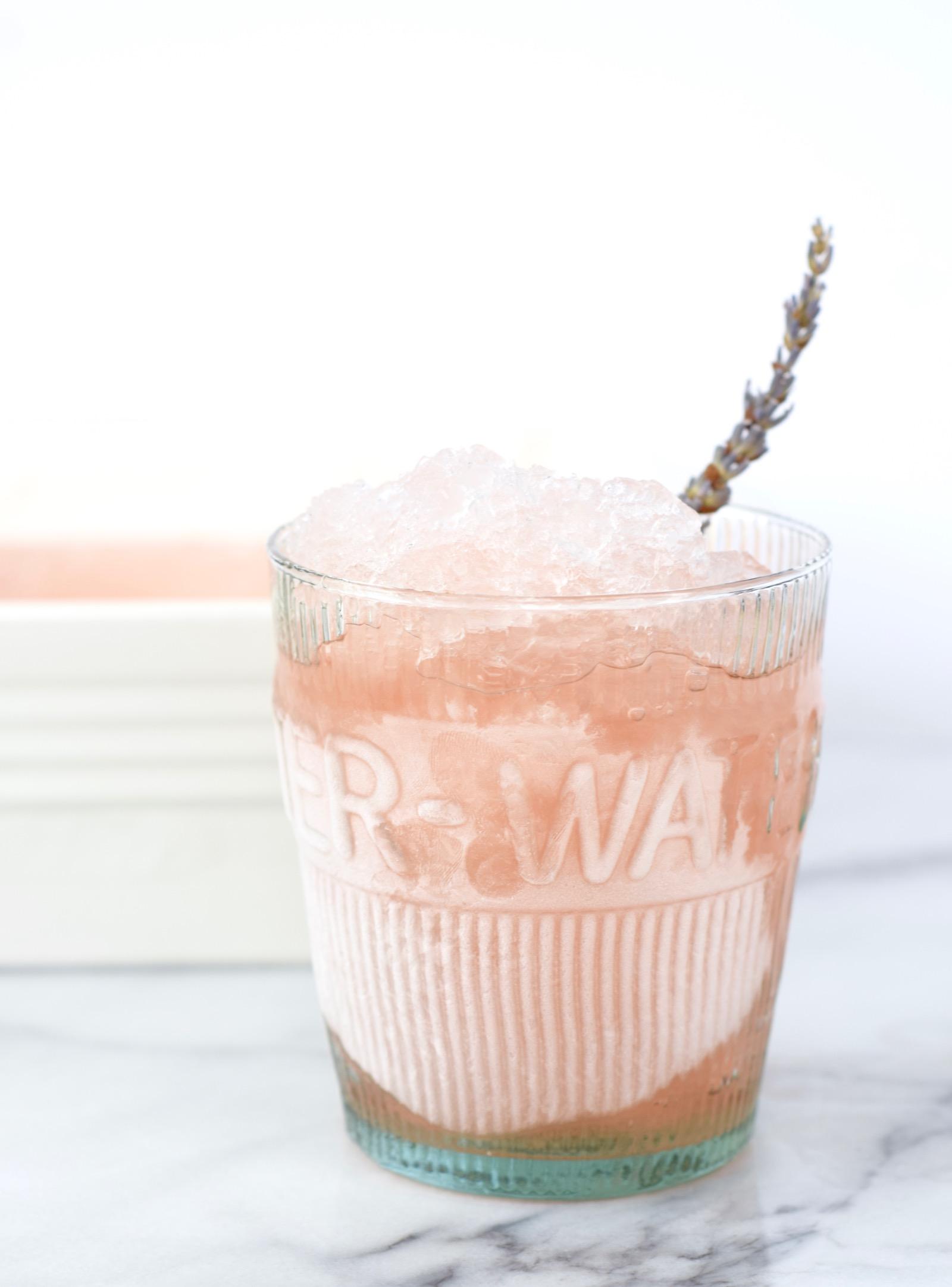 Frozen Lavender Rose Recipe