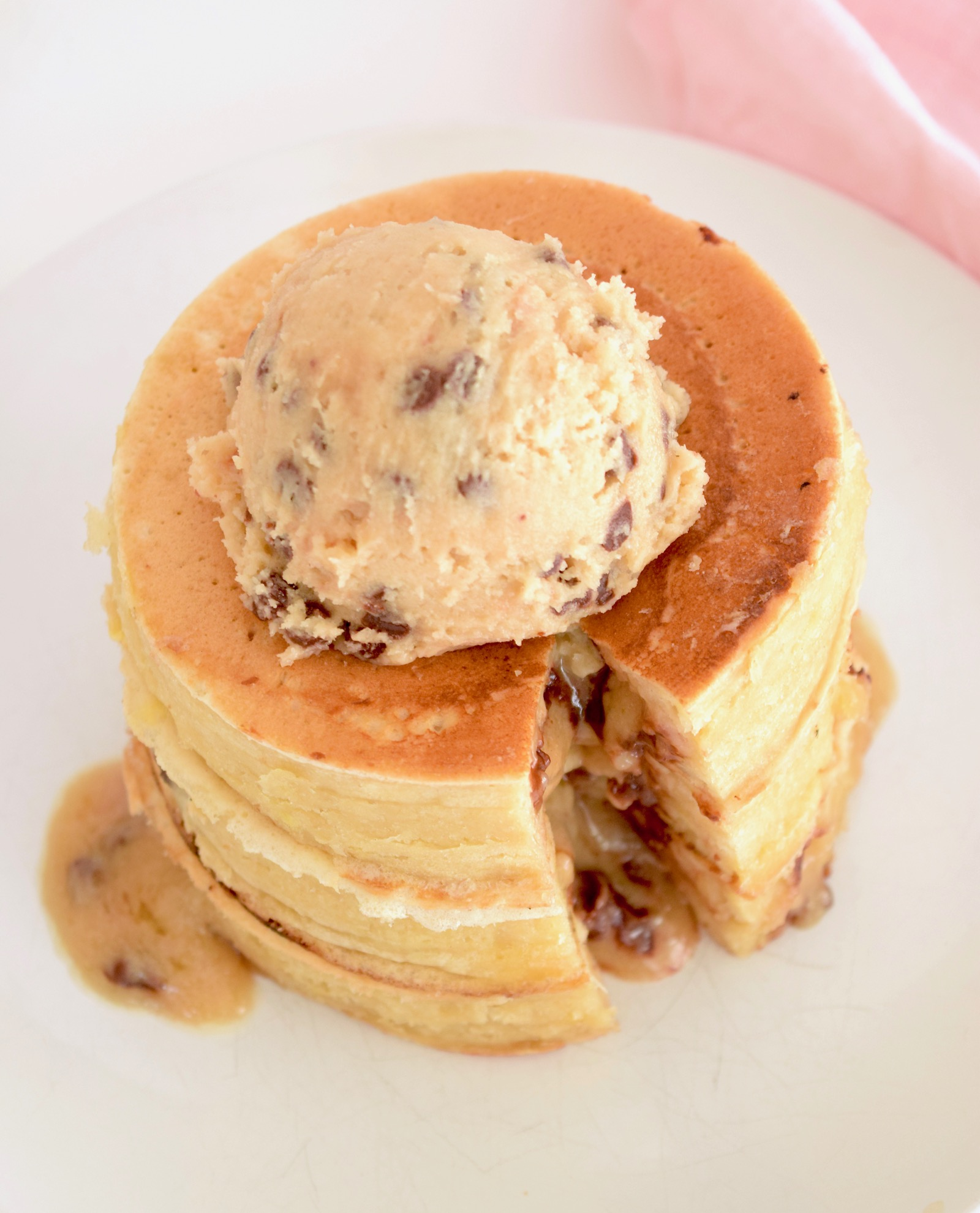 Cookie Dough Stuffed Pancakes Recipe