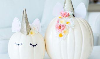 DIY Unicorn Pumpkin Tutorial