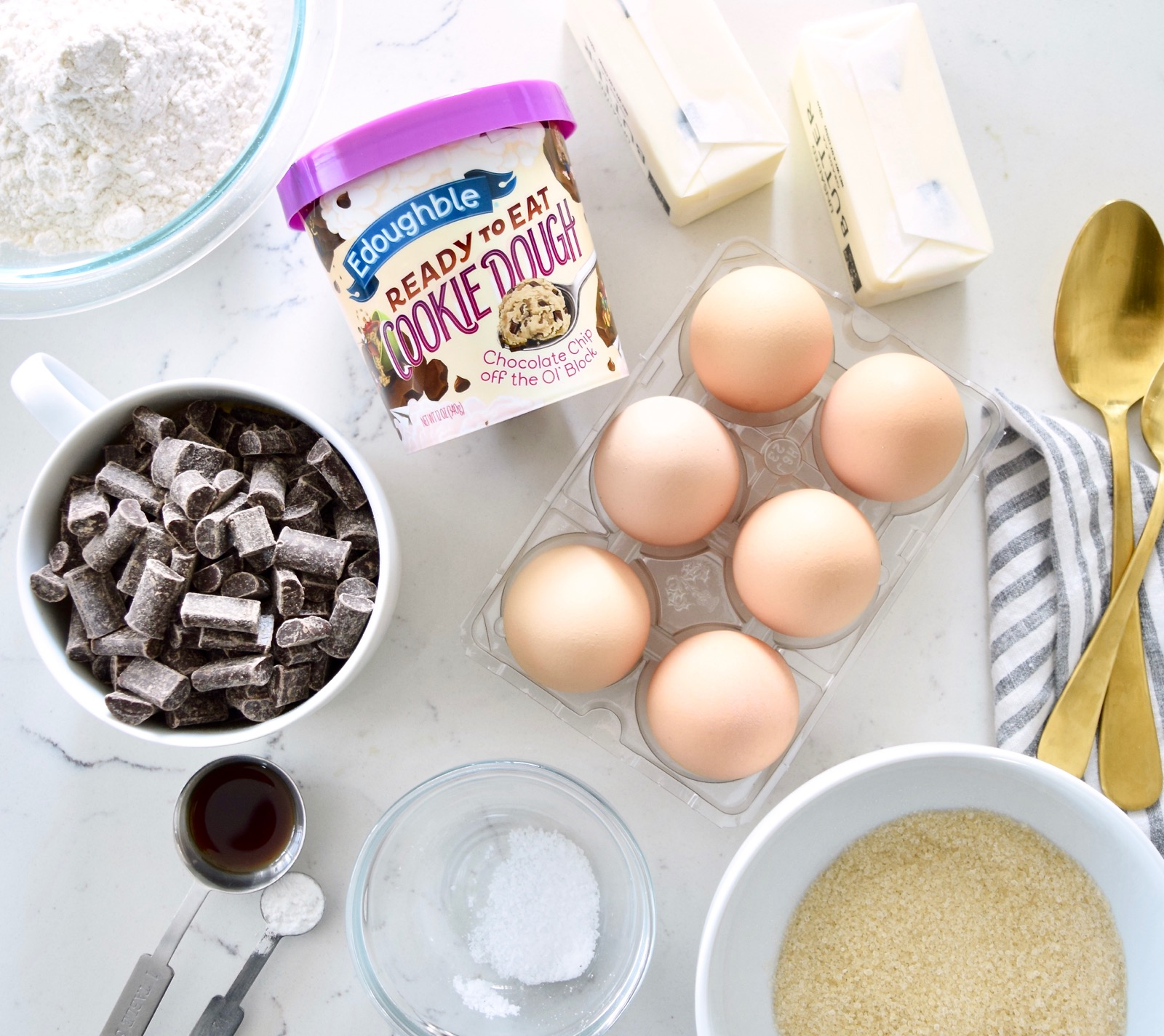 Brownie Cookie Dough Recipe