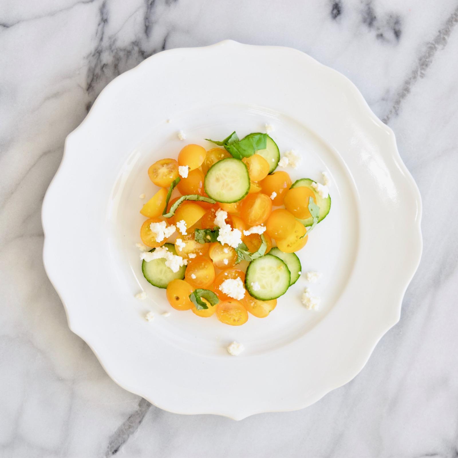 simple tomato appetizer salad recipe