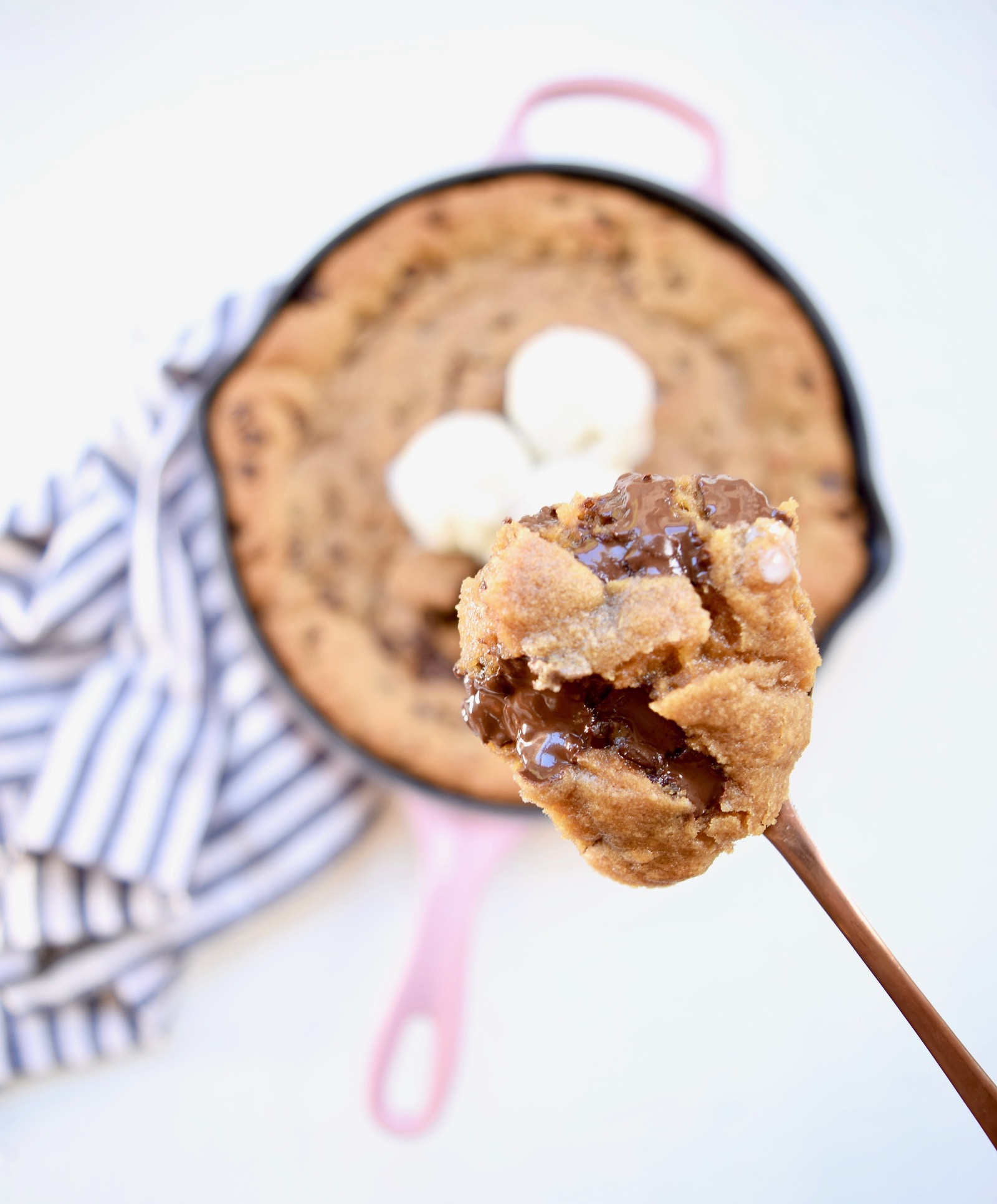 Chocolate Chip Cookie Skillet Recipe