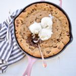 The Best Chocolate Chip Cookie Dough Skillet Recipe