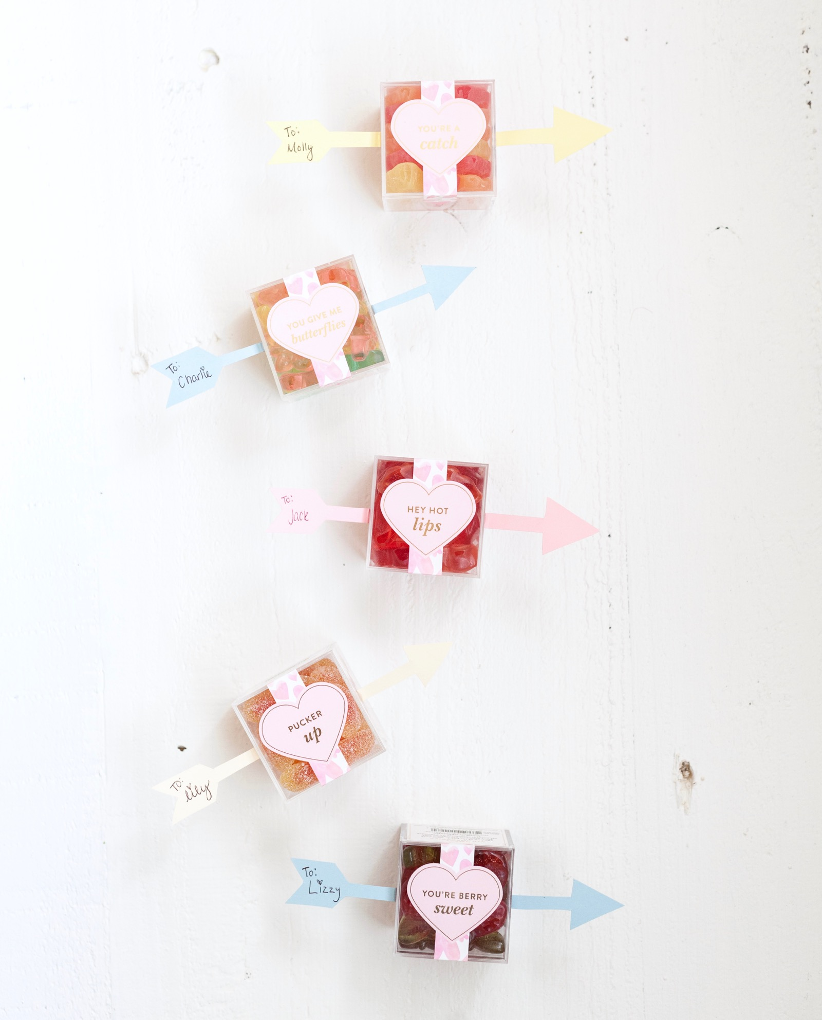 DIY Valentine's Day Candy Cards