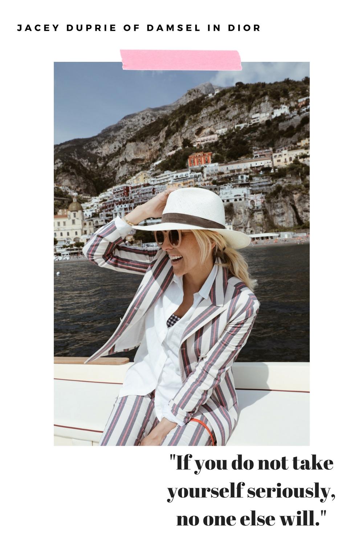 Jacey Duprie Damsel in Dior Recipe for Success
