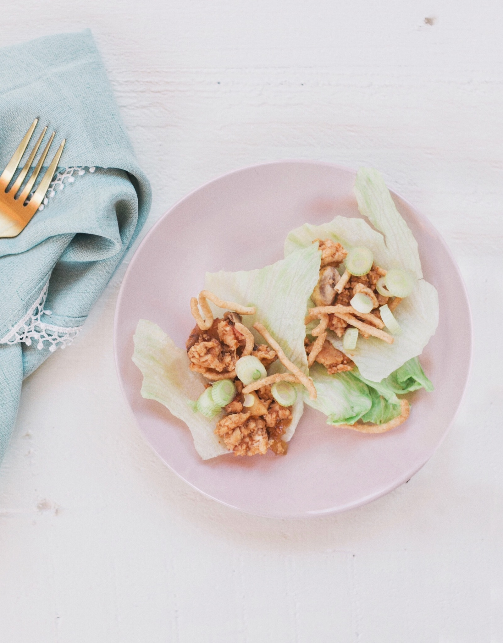 Healthy Easy Tasty Lettuce Wraps Recipe