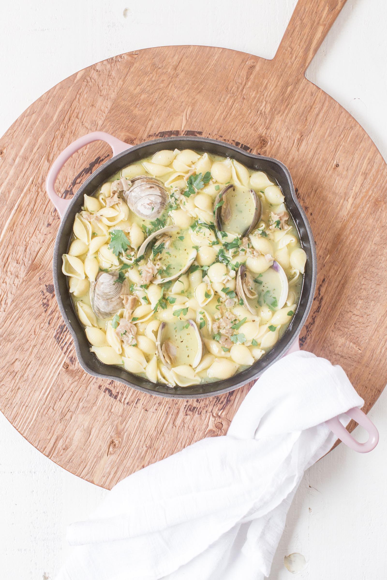 Easy Clam Pasta Recipe