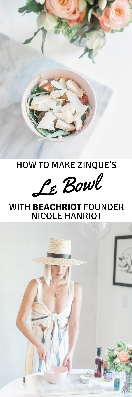 zinque's le bowl with beachriot