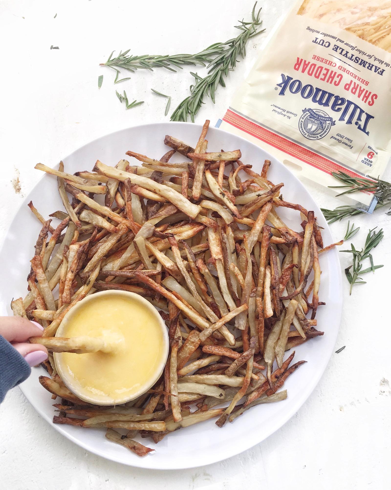 Easiest Cheese Fry Recipe
