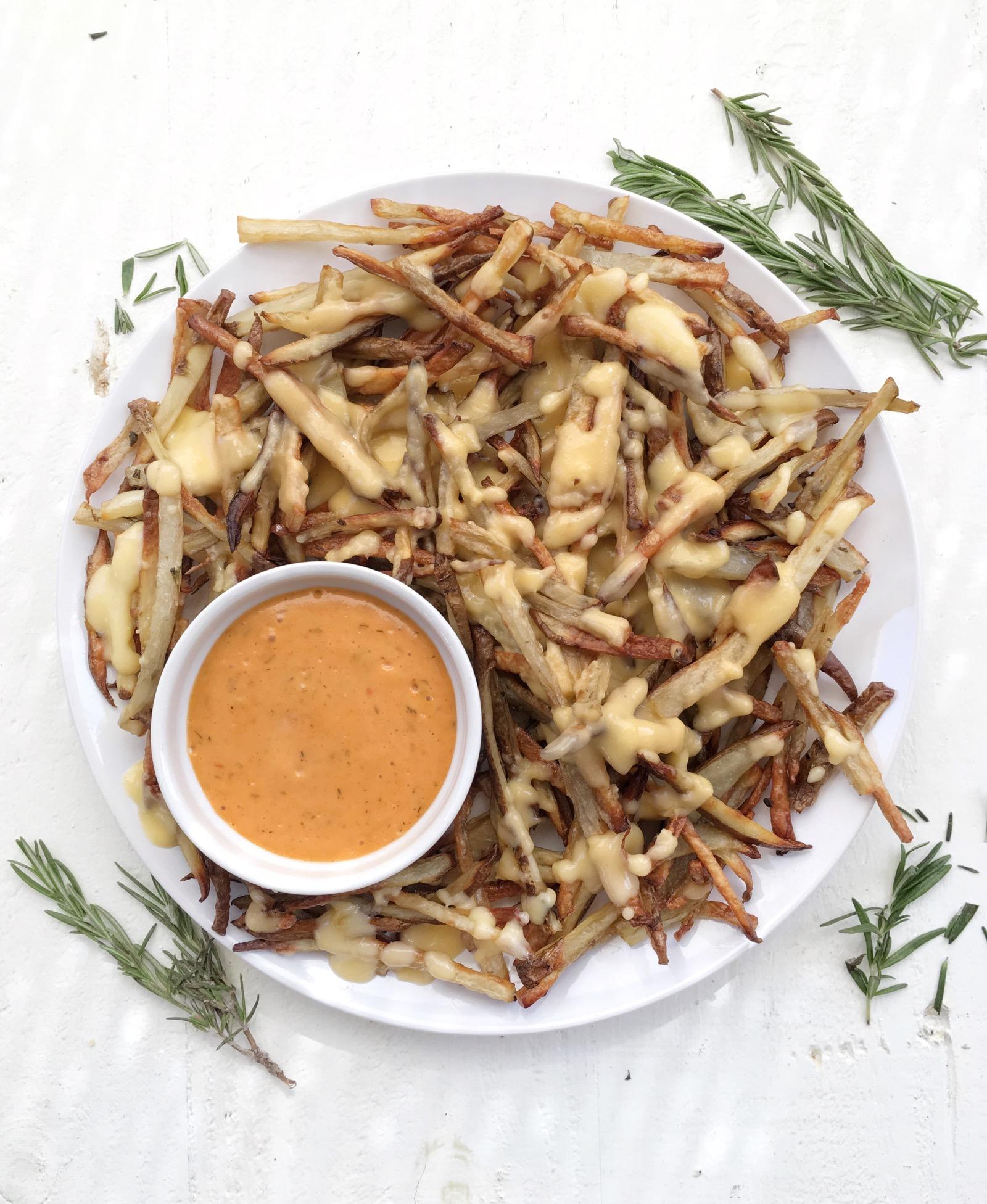Homemade Rosemary Cheese Fries Recipe