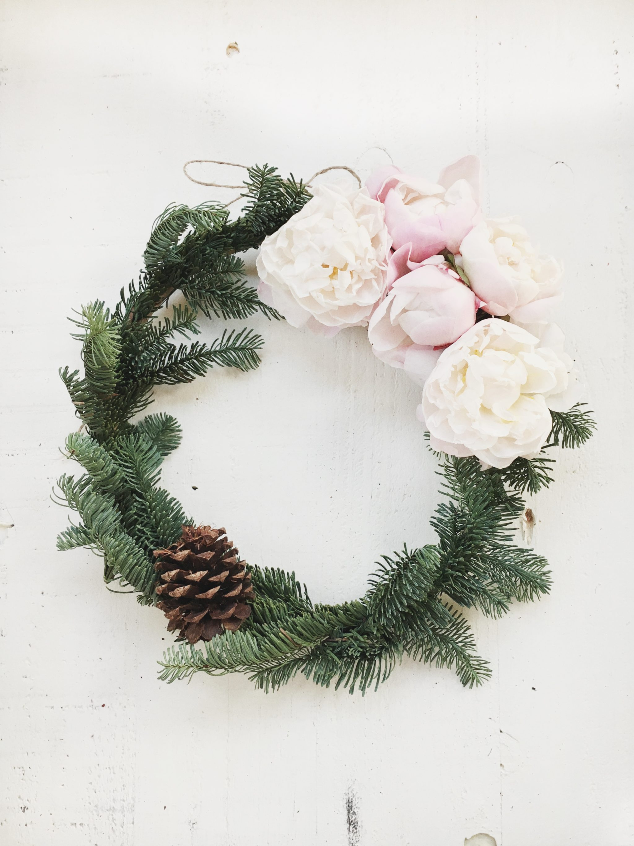 DIY Flower Wreath Tutorial