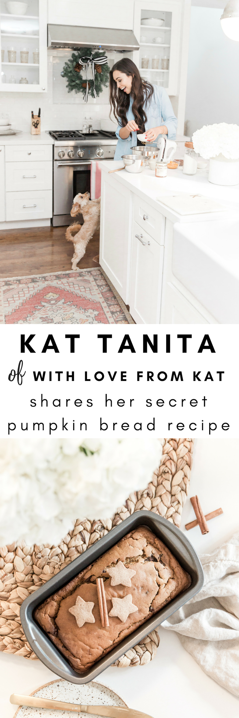 With Love From Kat Pumpkin Bread Recipe
