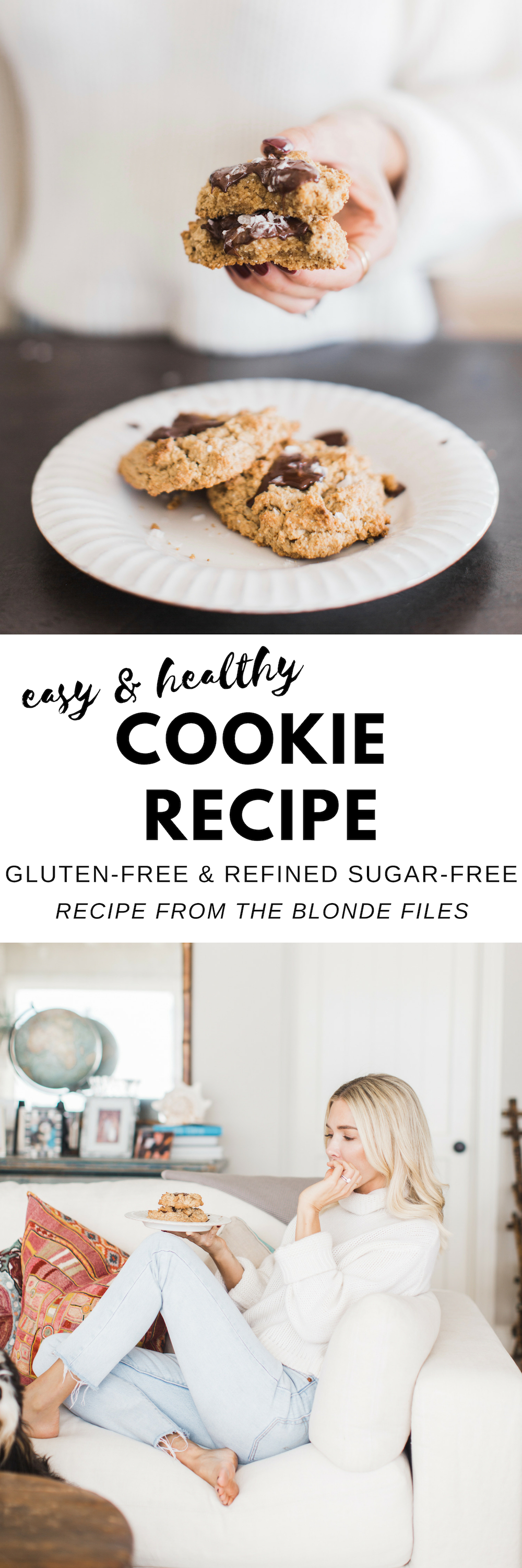 Gluten Free Cookie Recipe from The Blonde Files