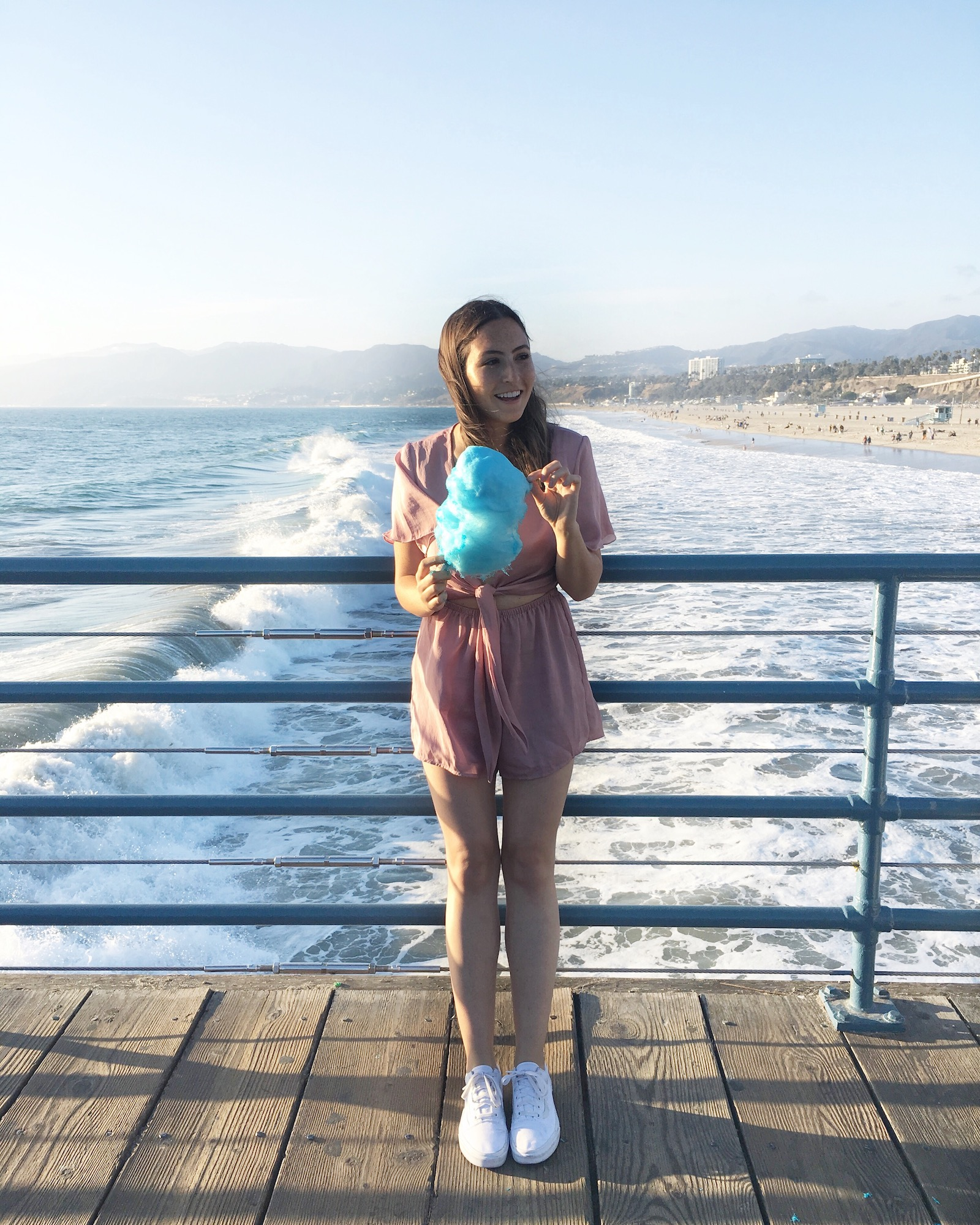 Santa Monica Pier Cotton Candy