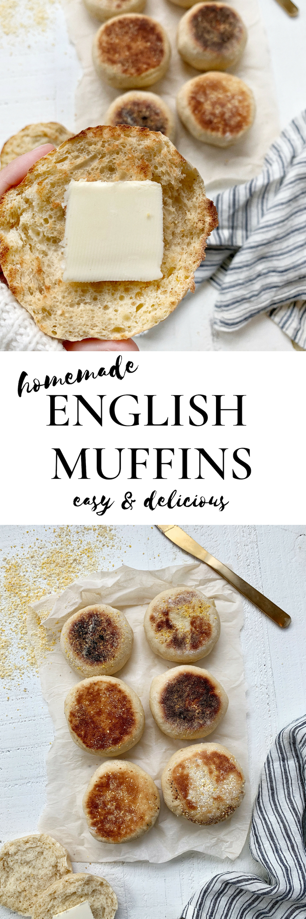 homemade english muffin recipe