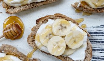 Whipped Ricootta Banana Toast Recipe