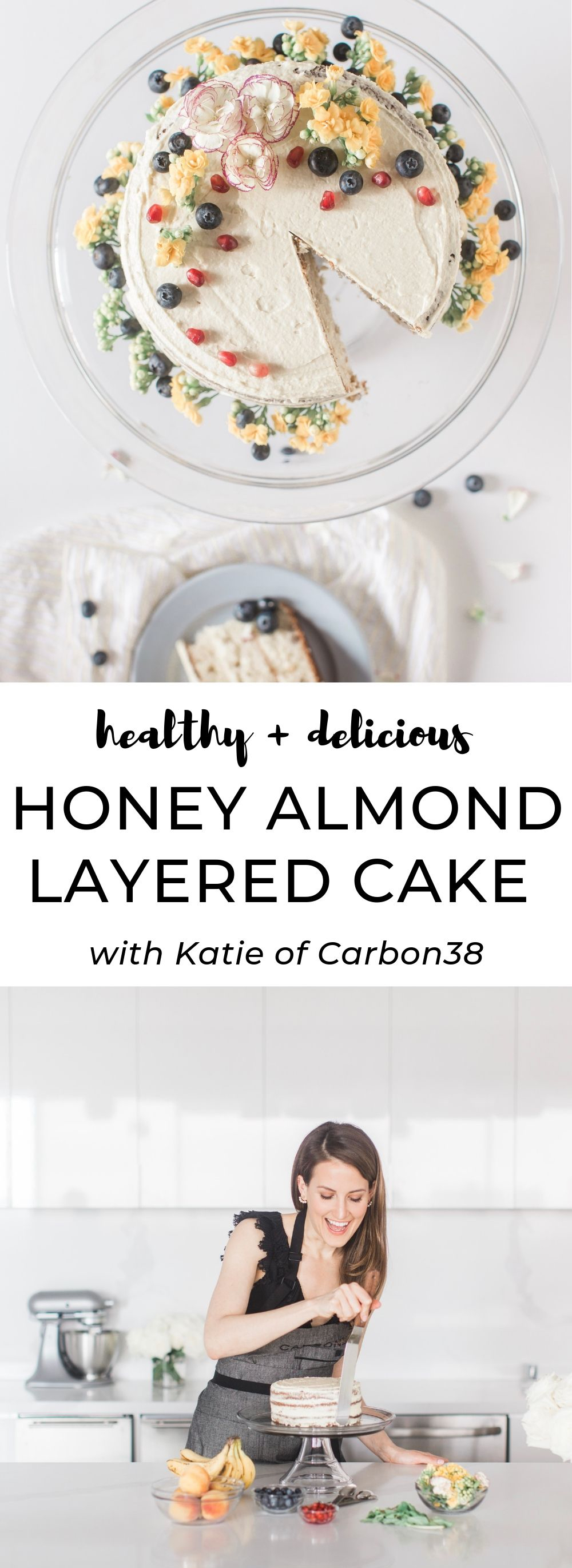 HONEY ALMOND CAKE RECIPE